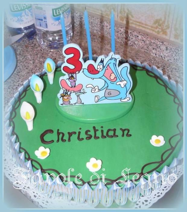 Cake Topper Scarafaggi su Torta (1)